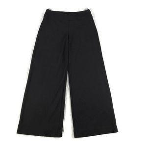 Boston Proper Pull on Pants Wide Leg Stretch Black